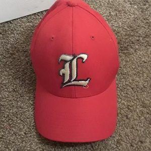 Red Louisville hat